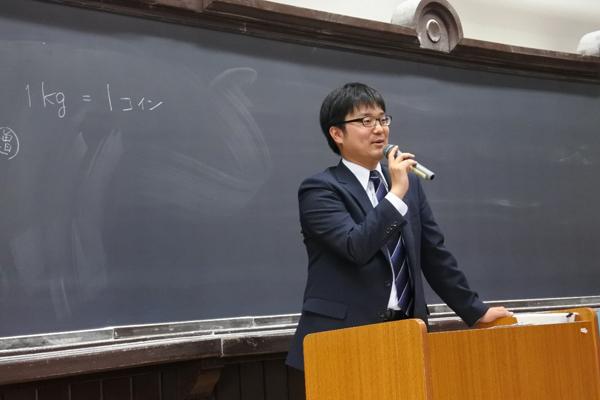 武井慶彦弁護士の講義の様子